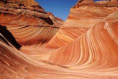 Paria-Schlucht-Zinnoberrot-Klippen Wildnis, Arizona, USA Lizenzfreie Stockbilder