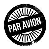 Pariavion zegel Royalty-vrije Stock Foto