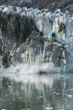 Parida del glaciar Imagen de archivo libre de regalías