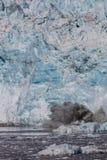 Parida del glaciar de Hubbard Foto de archivo libre de regalías