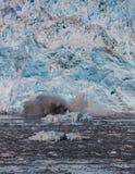 Parida del glaciar de Hubbard Fotografía de archivo