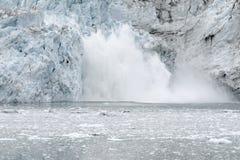 Parida del glaciar de Margerie Fotografía de archivo