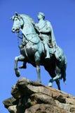 Paridade de Windsor da estátua de George III (cavalo de cobre) Fotografia de Stock Royalty Free