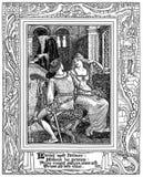 Paridell & Hellenore Stock Image