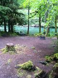Paridise campingplats Royaltyfri Fotografi