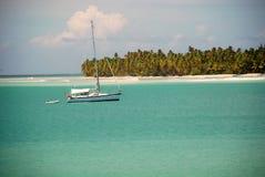 Paridise des 5 des Caraïbes Photos libres de droits