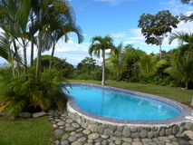 Paridise pool Stock Photography