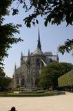 Parigi 14, cattedrale del Notre Dame Fotografie Stock Libere da Diritti