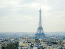 Parigi aerea - 1283 Immagine Stock Libera da Diritti