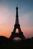 Parigi alla notte Fotografia Stock Libera da Diritti