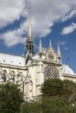 Parigi, cattedrale del Notre Dame Immagini Stock Libere da Diritti