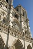 Parigi, cattedrale del Notre Dame Immagine Stock