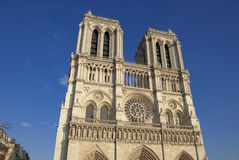 Parigi, cattedrale del Notre Dame Fotografia Stock Libera da Diritti