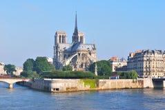Parigi. Citi l'isola fotografia stock