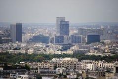 Parigi. Costruzioni della difesa della La Immagini Stock