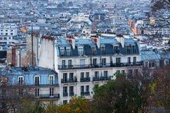 Parigi da Montmartre Fotografia Stock Libera da Diritti