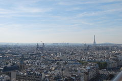 Parigi da sopra Immagine Stock Libera da Diritti