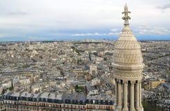 Parigi dall'altezza Immagini Stock