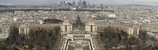 Parigi dall'altezza Fotografia Stock Libera da Diritti