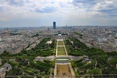 Parigi dalla Torre Eiffel fotografia stock libera da diritti