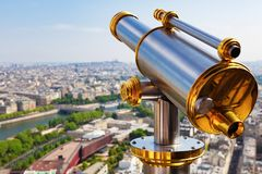 Parigi dalla Torre Eiffel fotografia stock