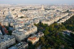 Parigi dalla Torre Eiffel Immagini Stock