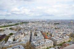 Parigi dalla Torre Eiffel Immagini Stock Libere da Diritti