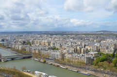 Parigi dalla Torre Eiffel Immagine Stock Libera da Diritti