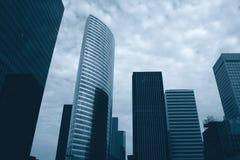 Parigi di costruzione corporativa Fotografia Stock Libera da Diritti