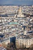 Parigi e Les Invalides Fotografia Stock