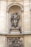 Parigi - fontana delle quattro stagioni fotografia stock libera da diritti