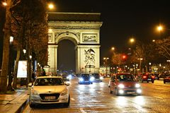 Parigi Francia, Arc de Triomphe Immagine Stock