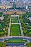 Parigi, Francia dalla Torre Eiffel Immagini Stock Libere da Diritti