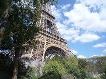 Parigi, Francia, il 17 agosto 2018: vista durante il giro Eiffel in un giorno soleggiato fotografia stock