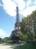 Parigi, Francia, il 17 agosto 2018: vista durante il giro Eiffel in un giorno soleggiato immagine stock
