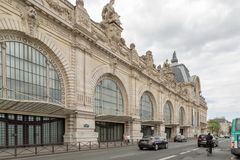 Parigi, Francia, il 28 marzo 2017: Museo di Orsay del ` di D sulla riva sinistra della Senna ` Orsay di D alloggiato nel preceden Immagini Stock Libere da Diritti