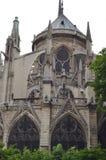 PARIGI, FRANCIA - 29 MARZO 2014: CATTEDRALE DI NOTRE DAME immagine stock