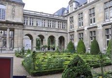 Parigi, il 19 luglio: Monumento storico della plaza di Vendome da Parigi in Francia Fotografie Stock Libere da Diritti