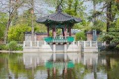 "Parigi, Jardin d ""Acclimatation fotografia stock"