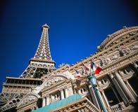 Parigi Las Vegas Fotografie Stock Libere da Diritti