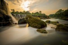 Parigi, the little niagara waterfall Royalty Free Stock Images