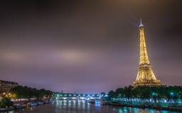 PARIGI - 12 LUGLIO 2013: Torre Eiffel il 12 luglio Immagine Stock Libera da Diritti