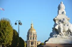 Parigi Museé de L ` Armée fotografie stock libere da diritti