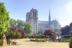 parigi Notre Dame de Paris fotografia stock libera da diritti