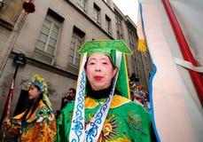 Parigi - nuovo anno cinese 2012 Fotografia Stock Libera da Diritti