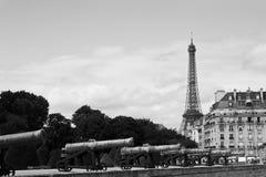 Parigi - paesaggio urbano dell'annata Immagini Stock Libere da Diritti