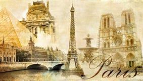 Parigi, Parigi? royalty illustrazione gratis