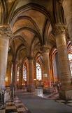 Parigi - particolare dall'interiore di Notre Dame immagini stock libere da diritti
