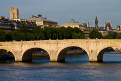 Parigi Seine Immagine Stock Libera da Diritti