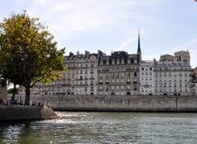 Parigi Seine Fotografie Stock